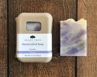 Lavender Soap. Herbal Soap. Handcrafted Soap. Handmade Soap Bar. Lavender Essential Oil. Vegan Skincare. Natural Soap. Gifts Under 10.