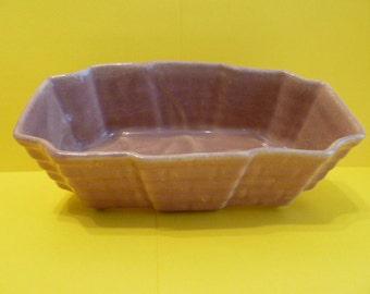 Planter, Pottery, Lilac Color, vintage