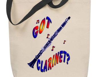 Got Clarinet? Tote Bag