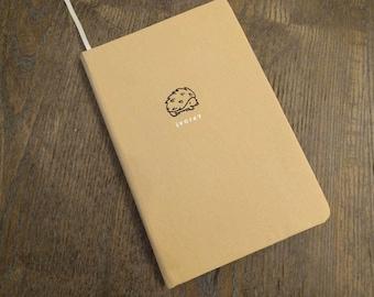Cuaderno tapa dura de Kraft