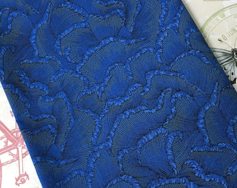 5/6 Yard Cotton Fabric - Cotton Fabric Remnant  - Cotton Quilt Fabric - Craft Fabric - Blue Cotton Fabric - Fabric Scraps