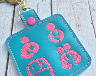 Breastfeeding keyring -gifts for new moms - breastfeeding-babywearing-cloth diaper-home birth-gentle parenting - custom key tag - keyring
