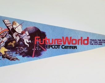 Future World, Epcot Center, Walt Disney World - Vintage Pennant