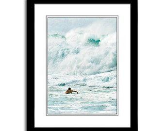 Ocean Photography Beach Wall Art Prints Wipe Out Home Decor Photos for Cards Coastal Decor Wave Photography Surfer Decor Surfer Print
