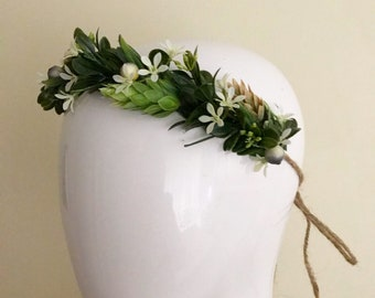 Foliage Crown | Greenery Headband  | Photography Prop | Leaf Crown | Boho Headband
