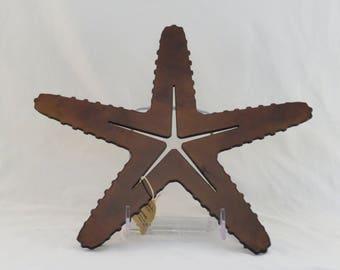 Brown Starfish Trivet / Wall hanging