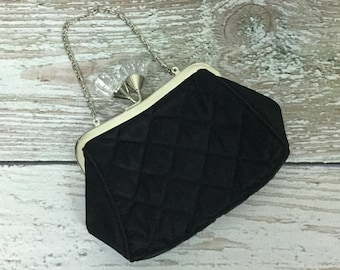 Vintage Inspired Quilted Clutch
