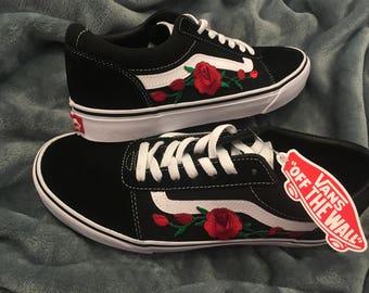 876cafde5de3 vans rose thorns old skool nz sneaker