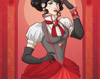 Ruby - Original illustration print