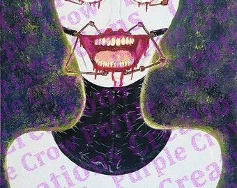 Bound print or original artwork