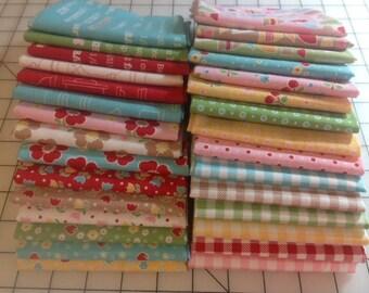 Bake Sale 2 by Lori Holt for Riley Blake - 100% cotton - 1/2 Yard Bundle - includes 30 fabrics