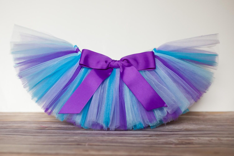 Purple and blue tutu Audrey mermaid tutu girls mermaid