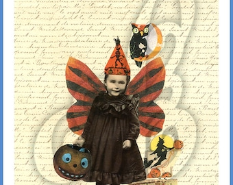 Halloween Collage INSTANT DOWNLOAD
