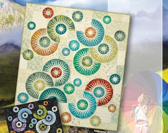 Raindrops Foundation Paper Pieced Quilting Pattern by Judy Niemeyer