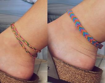 Cheveron Anklet