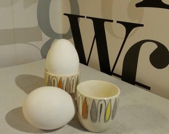 Vintage Egg Holders from the 50's - 60's    FREE SHIPPING