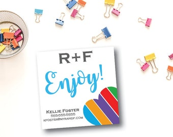 """Rodan and Fields Stickers, DIGITAL FILE, 2"""" x 2"""", Square Product Labels"""