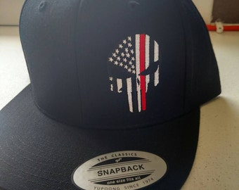 Snap back punisher thin red line