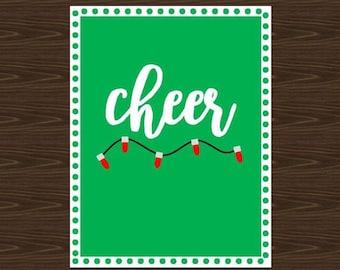 Holiday Cheer Print