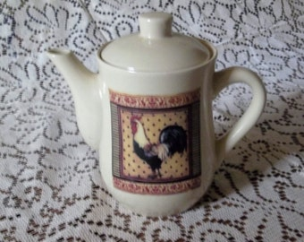 Bay Island  rooster teapot