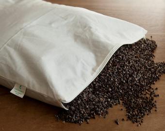 Organic Buckwheat Pillow - 40 x 60cm.
