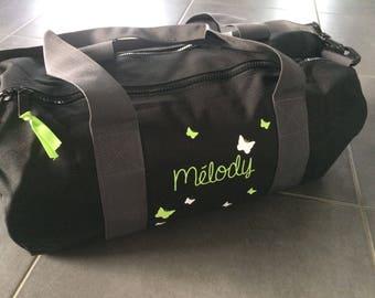 Weekend bag personalized name kids, teen, adult