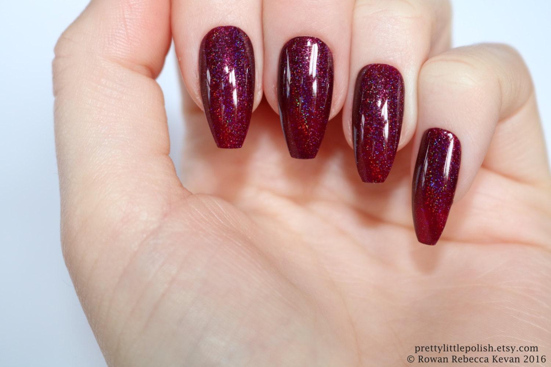 Holographic stiletto nails, Nail designs, Nail art, Nails, Stiletto ...