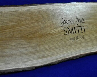 Wedding Guest Book ~ Guest Book ~ Wedding Sign ~ Wood Slab ~ Guest Book ~ Tree Slice ~ Guest Book Alternative ~ Signing Board ~ Wedding Sign
