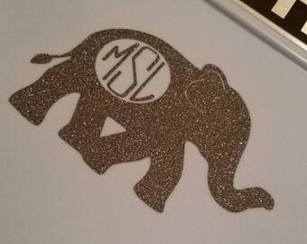 Elephant monogram