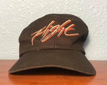 Rare Vintage Nike Flight Zip Back Hat Adult, One Size Fits Most, Retro 90's Hip Hop