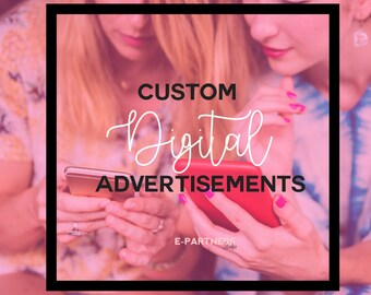 Custom Ad Design | Banner Ad Design |  Business Branding | Web Advertisements | Marketing | Promotion