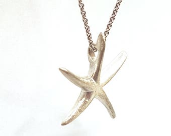 Star fish in Sterling Silver