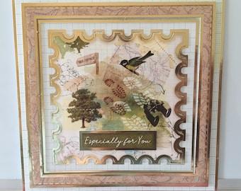 Handmade Cards - Birds - Especially For You - Al Occasions