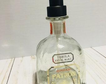 Patron Bottle Soap Dispenser
