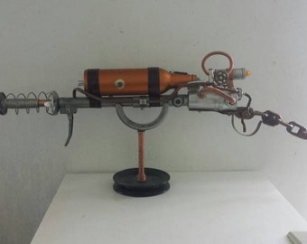Ray gun, Steampunk gun