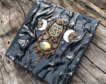 Hecate Book of Shadows Journal Spell Book Notebook Witch Book Witchcraft Book Alternative Book Unique Book of Shadows Moon Book Triple Moon