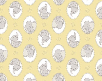 Disney Fabric Dumbo Fabric Frames in Lemomade From Camelot 100% Premium Cotton