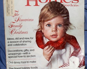 Better Homes and Gardens December 1971 Back Issue, Christmas ideas and much more