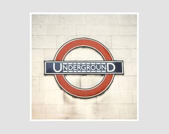 Underground - 8x8 Original Signed Photography