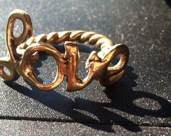 LOVE RING (Bronze)