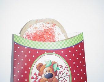 Cookie Sleeve, Christmas Cookie package, Christmas cookie bags, cookie bags, Christmas Cookie exhange party Sleeves.  Set of 20