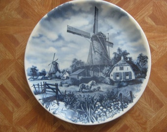 Delft Blauw  Hand Decorated Plate