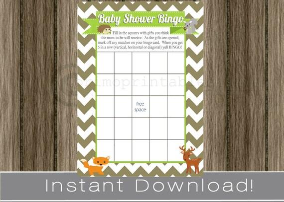 Baby Shower Gift Bingo Printable ~ Gift star wars baby shower sign printable