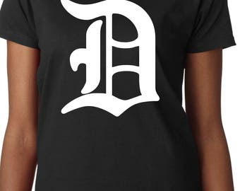 JaySinMyers    The Big D    Detroit t-shirt