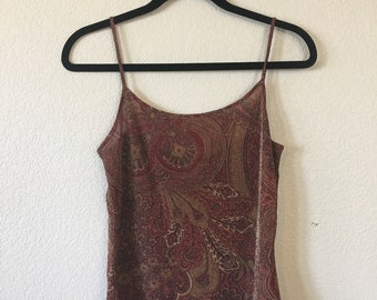 Ann Taylor Shimmery Tank
