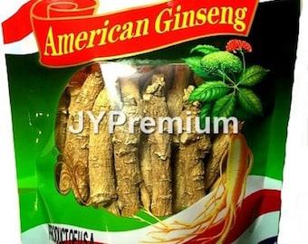 8oz - PREMIUM AMERICAN Ginseng Root Long and Medium, Hand Selected Grade A