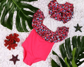 Summer sale   Clothing Swimwear   Swimsuit toddler   Kids' Clothing Swimwear   One piece swimsuit   Personalized girls bathing suit   Swim