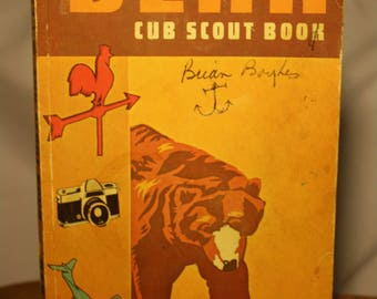 BSA Bear Scout Book