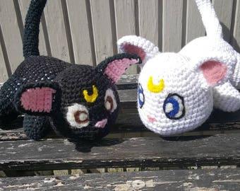 Luna and Artemis Plushies