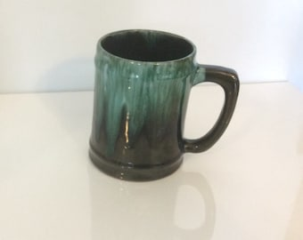 Vintage Blue Mountain Pottery Coffee Mug Stein